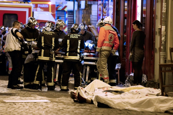 Полицейские сообщили оботсутствии потерь личного состава— Теракты встолице франции