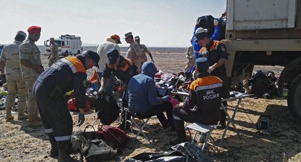 Поисковая операция наместе крушения А321 завершена— власти Египта