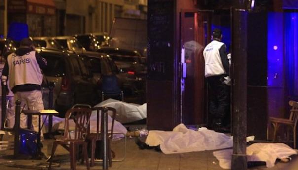 Неизвестные открыли стрельбу встолице франции, несколько человек погибли