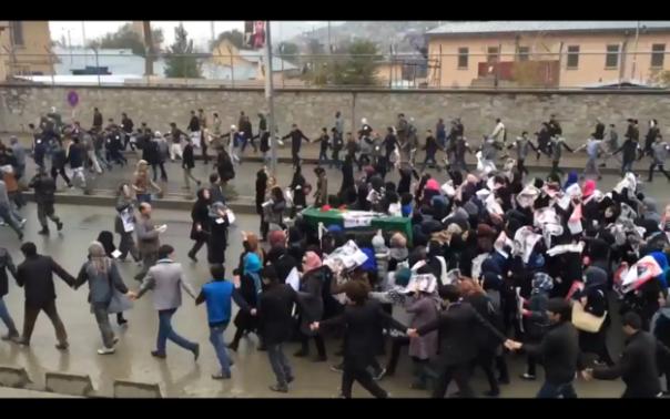Волна протестов против бездействия властей вборьбе стеррористами прокатилась поКабулу