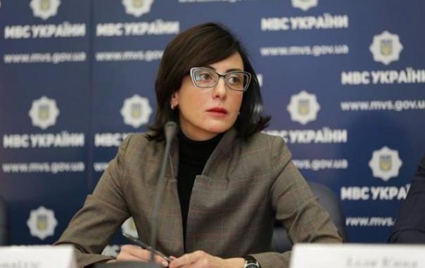 Хатия Деканоидзе назначена начальником государственной милиции Украины