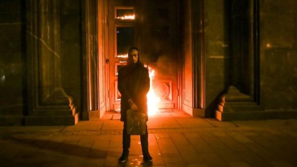 Художника Павленского задержали в столице запопытку поджечь ФСБ