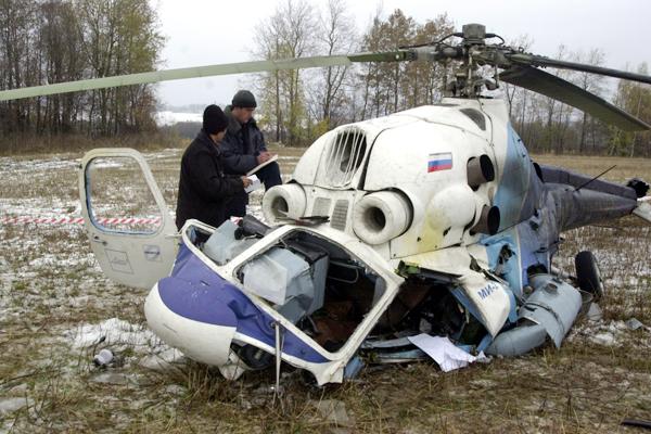 НаКамчатке совершил жесткую посадку Ми-8