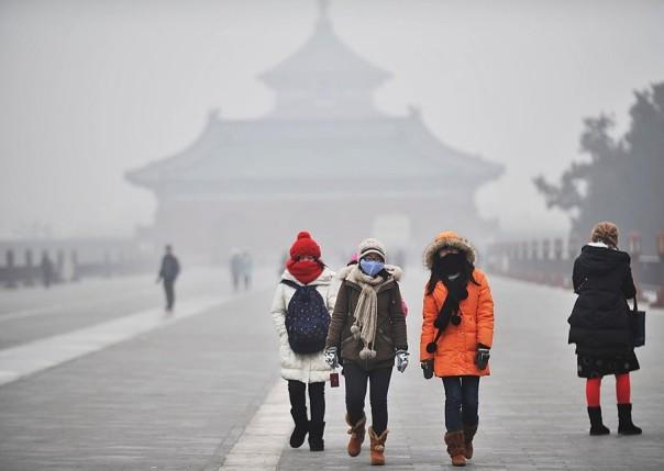Пекинский сумел в20 раз превысил норму концентрации рискованных частиц