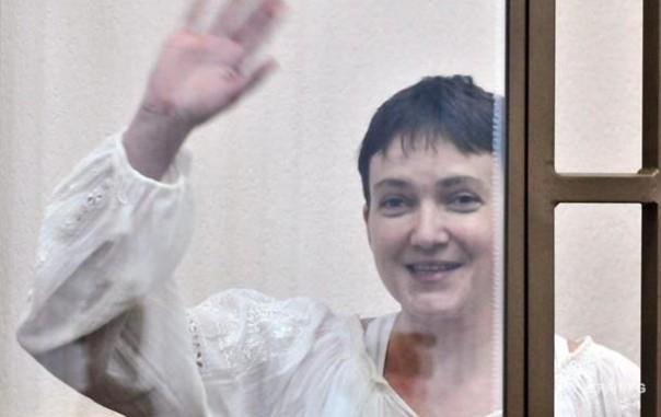 Надежда Савченко объявила голодовку доконца суда