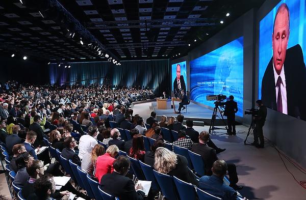 Кремль назвал место проведения пресс-конференции В. Путина