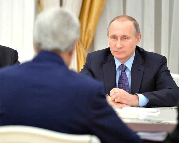 Путин сегодня встретится сгоссекретарем США