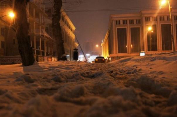 ВПриморье завтра потеплеет ипройдёт снег сдождём