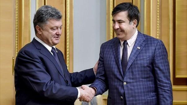 Саакашвили ответил напубликацию видео ихперепалки Аваковым