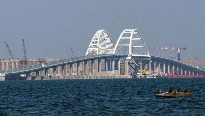 Названа дата окончания монтажа железнодорожных пролетов Крымского моста