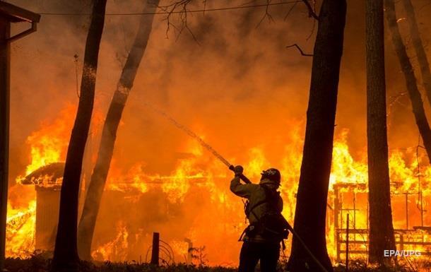 Огонь вРаю: масштабные пожары вКалифорнии практически уничтожили город Парадайз