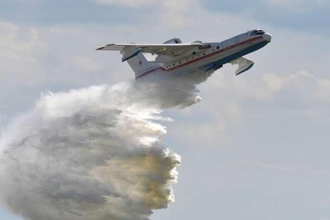 Пожар вКалифорнии заставил американцев задуматься орусских самолетах-амфибиях