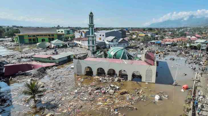 20 человек погибли при цунами вИндонезии
