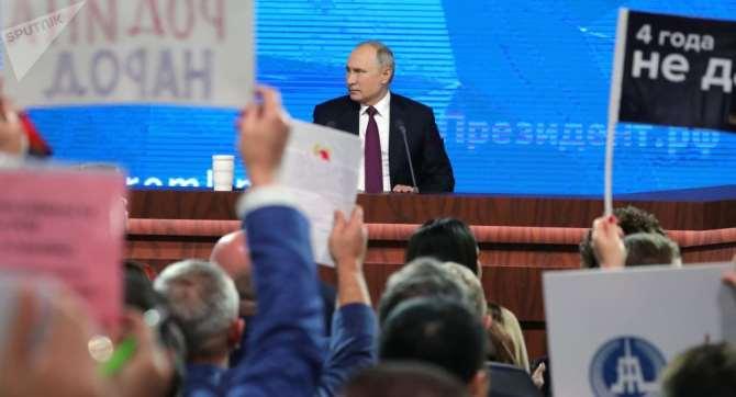 Сколько расходуете наДонбасс— Вопрос Цимбалюкa Путину