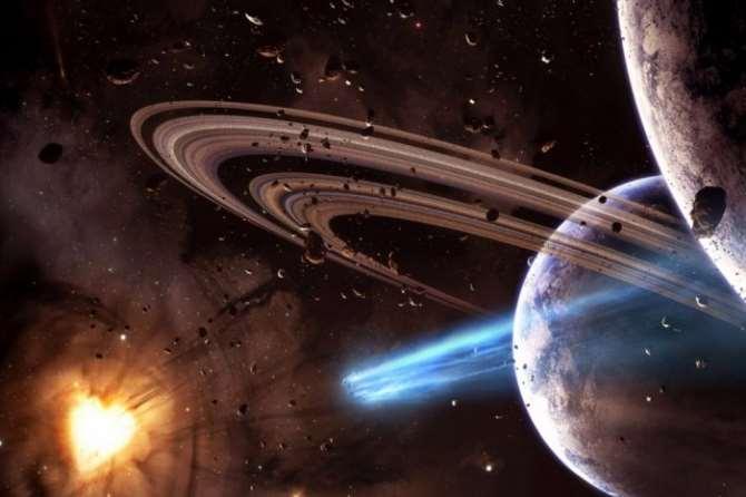 Уран изменил свое положение после столкновения согромным космическим телом— Ученые