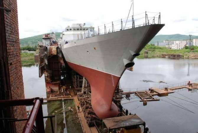 Новый корвет «Громкий» вошел всостав Тихоокеанского флота