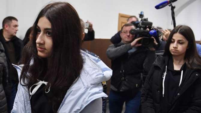 Обвиняемым вубийстве отца сёстрам Хачатурян продлили меру пресечения