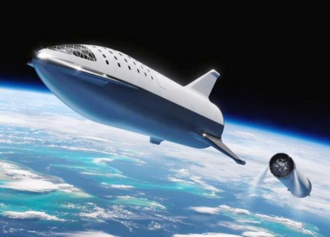 Маск дразнит новыми уточнениями окосмическом корабле следующего поколения