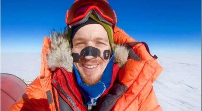 Житель америки стал первым, кто отдельно пешком пересек Антарктиду: впечатляющие фото