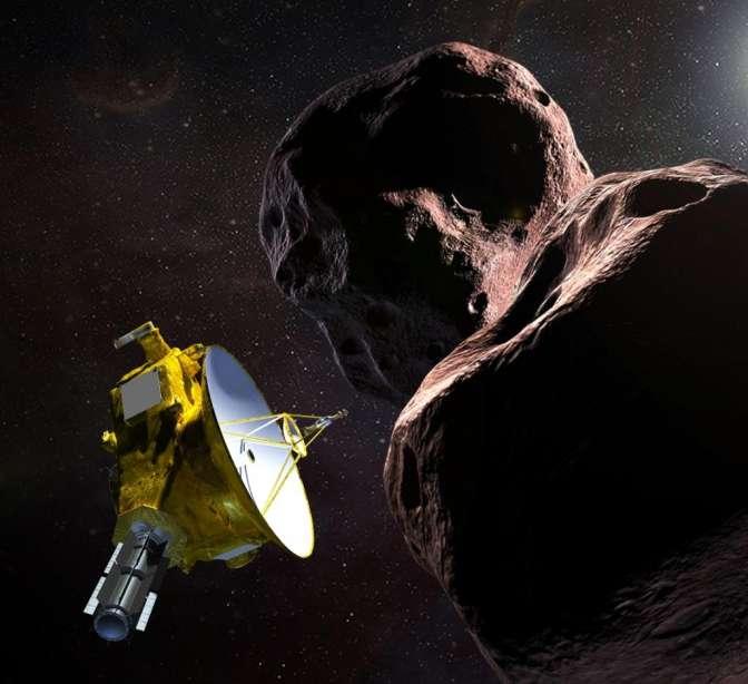Зонд New Horizons встретился састероидом уграниц Солнечной системы