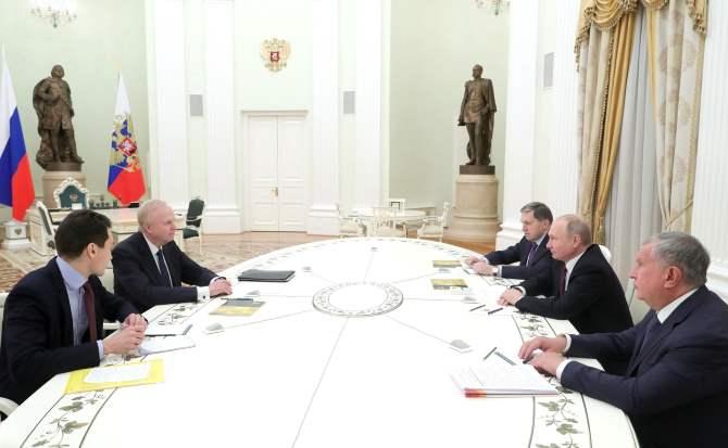 Путин вчетверг встретится сглавойBP вКремле—Песков