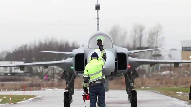 ВШвеции представили «самолет-убийцу» русских Су