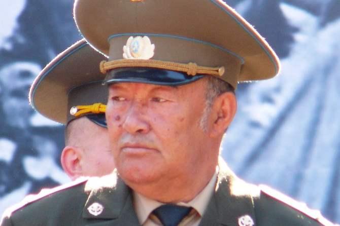 Скончался «Черный майор» Борис Керимбаев
