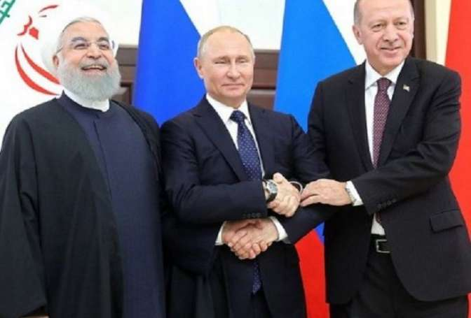 Трехсторонний саммит вСочи поСирии прошел ватмосфере назревающей напряженности