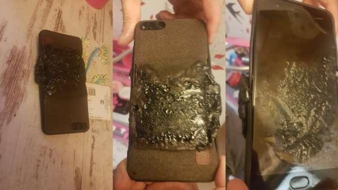 У жителя России в кармане вспыхнул популярный телефон
