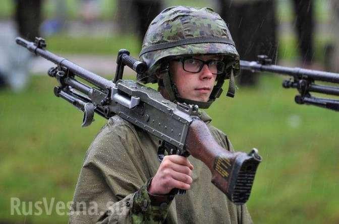 Эстонские военные сообщили оподготовке квойне
