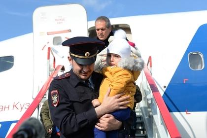 Практически 60 детей вернули изИрака в Российскую Федерацию