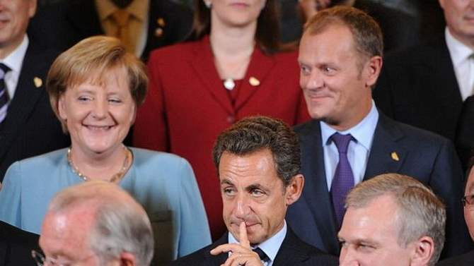 """Туск, Саркози, Меркель и другие в новом фильме Би-би-си """"Внутри Европы"""""""