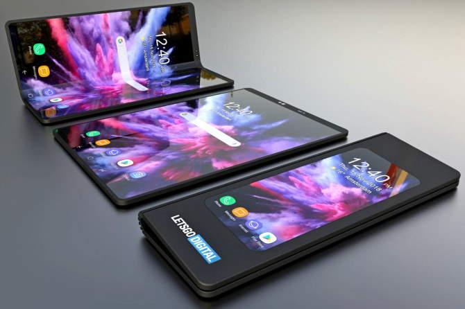 Samsung разрабатывает второй складной смартфон после Galaxy Fold