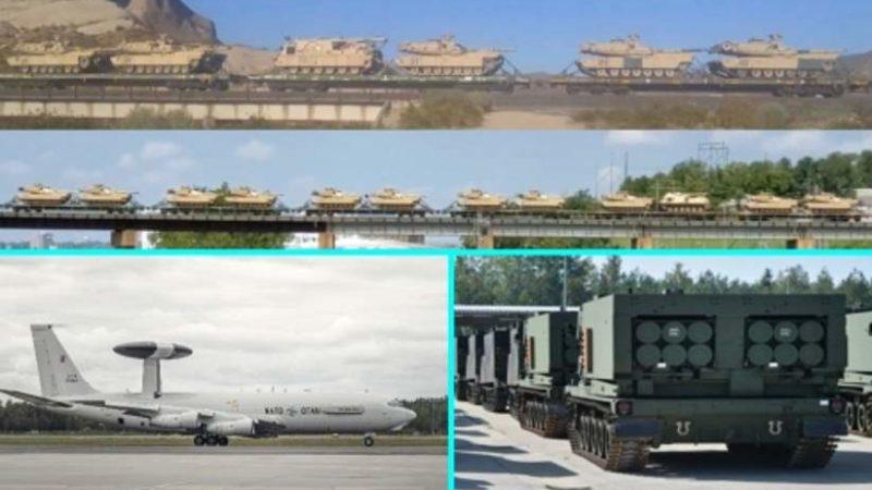 Америка отправляет в поход всё новые и новые танковые бригады