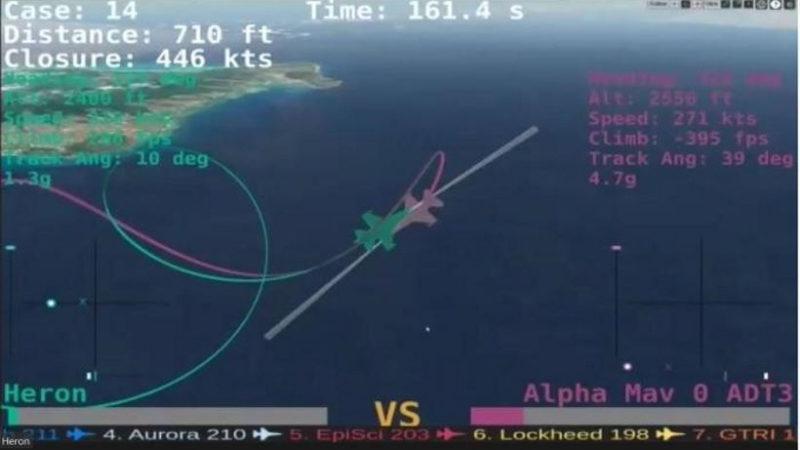 ИИ победил человека в виртуальном воздушном бою