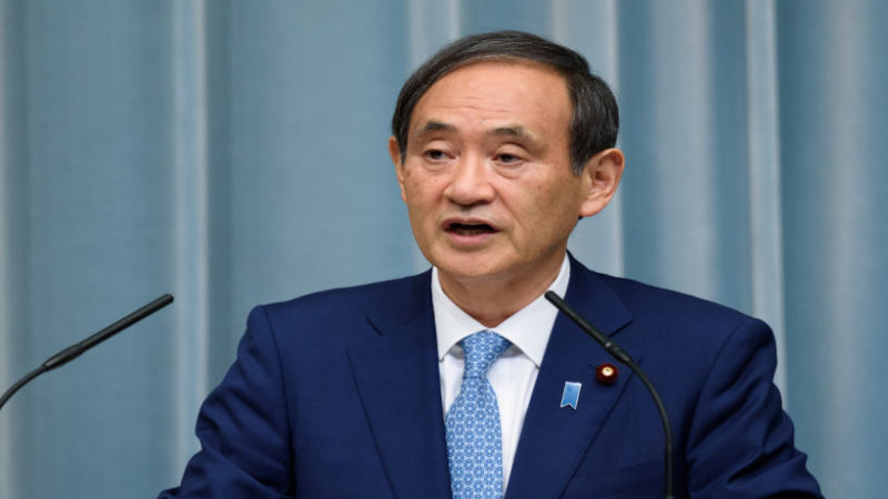 Ёсихидэ Суга избран новым премьер-министром Японии