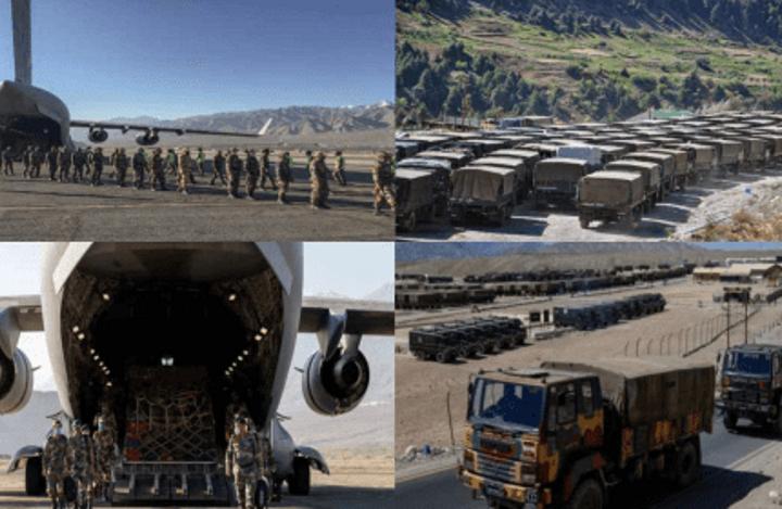 Индия и Китай продолжают стягивать к границе войска.
