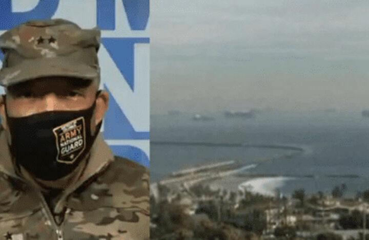 Ситуация в США накаляется: странные оговорки военных и десантные корабли у берега Калифорнии.