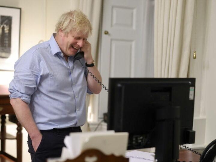 Борис Джонсон в восторге от своего первого телефонного разговора с Байденом