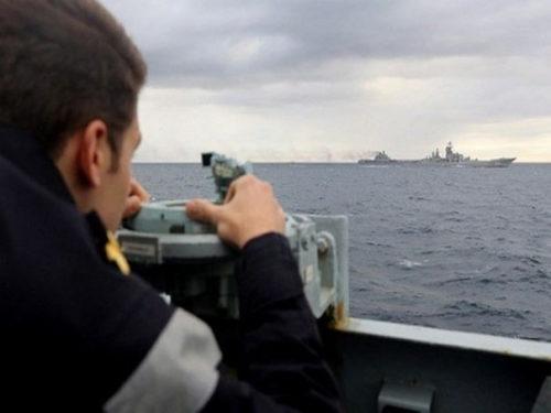 Британский флот вышел наперехват русских кораблей