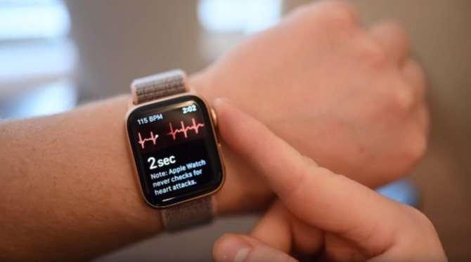 ЭКГ вApple Watch впервый раз спасла жизнь человека