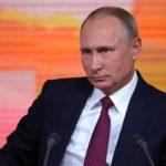 Набольшую пресс-конференцию В. Путина аккредитовано рекордное число репортеров