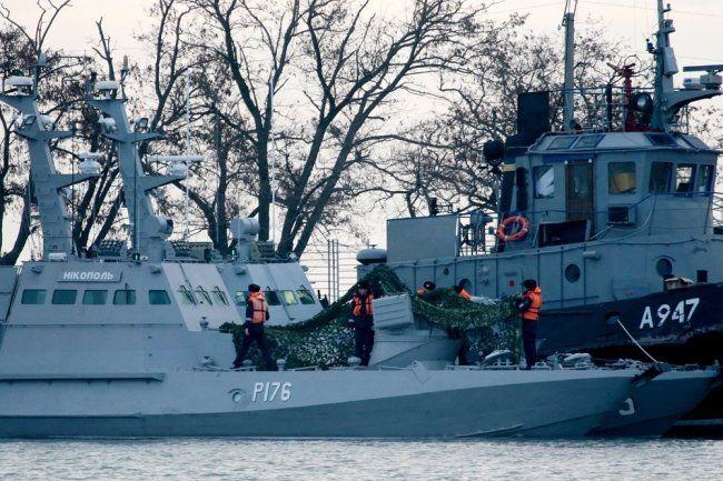 ЕСотказался подвергать наказанию Российскую Федерацию заинцидент вКерченском проливе