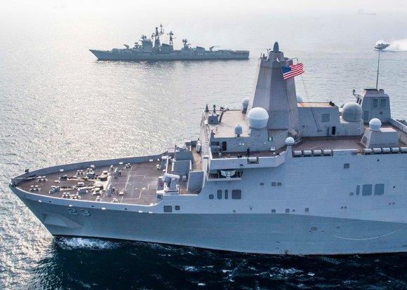США проверят свои военные корабли вусловиях Арктики
