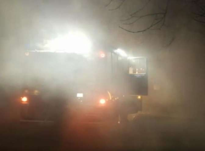 ВКраснодаре горело заброшенное строение: имеется пострадавший